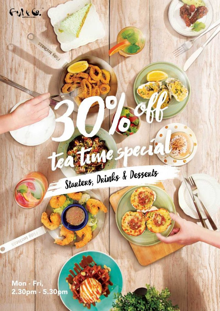 Promotion Tea time special